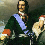 Czar Peter I of Russia, Peter the Great, reigned May 7, 1682 - Feb. 8, 1725. Image courtesy Wikimedia Commons.