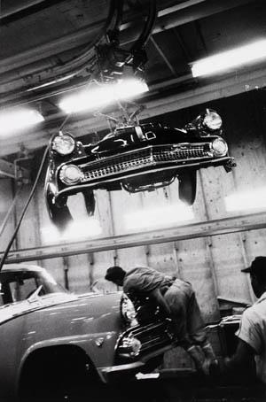 Robert Frank, 'Assembly Plant, Ford, Detroit,' 1955, gelatin silver print. Detroit Institute of Arts. © Robert Frank.