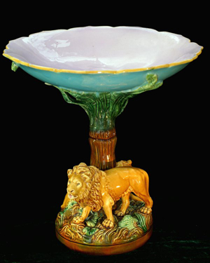 Strawser Majolica Auctions uncovers rare pieces for March 26-27 sale