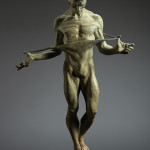 This patinated bronze sculpture titled 'Nureyev Half Life, 1990' set a new world record for artist Richard MacDonald when it sold for $53,330. Image courtesy Clars Auction Gallery.
