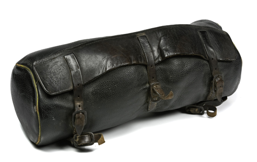 Cavalry officer's saddle valise from the late Indian Wars is estimated to sell for $500-$700. Image courtesy Cowan's Auctions.
