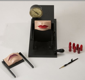 Max Factor's Kissing Machine, estimate $50,000-$100,000, Super Auctions' May 15, 2010 sale of articles from the Hollywood Entertainment Museum. Image courtesy LiveAuctioneers.com and Super Auctions.