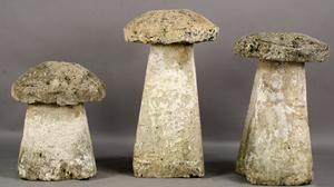 Antique English staddle stones, $5,000. Image courtesy Kamelot Auctions.
