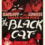 The only known copy of Universal's The Black Cat Style B one-sheet (1934, 27