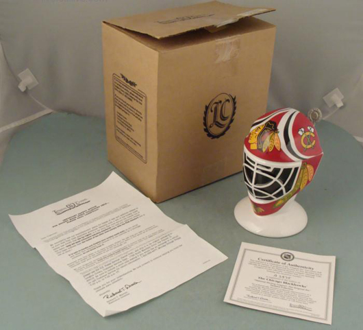 Black Hawks Stein. Image courtesy of Universal Live Auctions.