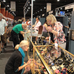 Attendance was up 15 percent over last year at the Las Vegas Antique Jewelry and Watch Show. Image courtesy of US Antique Shows.