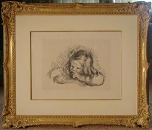 Renoir Little Boy with Quill Pen Est $19-$24,000 Photo courtesy Universal Live