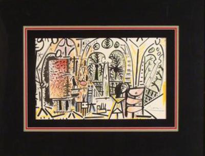 Picasso Cercle d' Arts Paris Est. $5,200-$7,500 Photo courtesy Universal Live