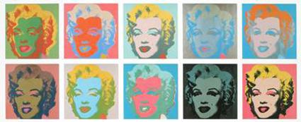 Warhol Sunday B Morning Marilyn Est. $7,500-$8,200  Photo courtesy Universal Live