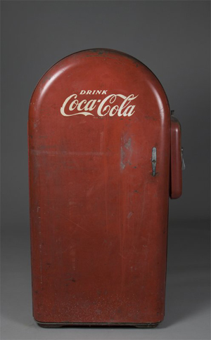 Chilled bottled soda from vintage vending machines: sweet!