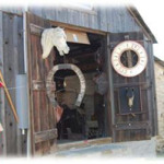 Marburger Farm Antique Show dealers have 10 tents and a dozen buildings in which to exhibit their merchandise. Image courtesy of Marburger Antique Show.