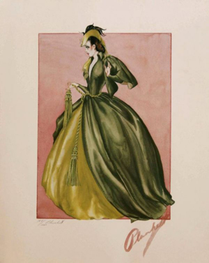 Scarlett O'Hara's dresses in dire need of reconstruction