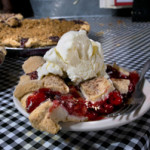 Cherry Pie served at the counter at Royers. Photo by Robert Maxwell.