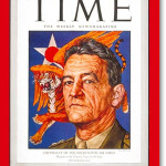 Dec. 6, 1943 issue of Time magazine featured on its cover Major General Claire Lee Chennault, U.S.A.A.F, commander of 14th Air Force in China, together with a winged Burmese tiger. Fair use of copyrighted image used to illustrate this particular issue of Time magazine.