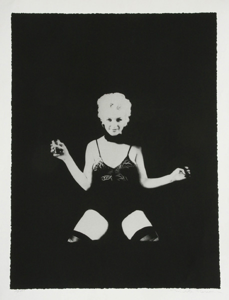 Milton Green, 'A Little Drink, Marilyn Monroe,' lithograph, 107/300, 40 inches by 30 inches.