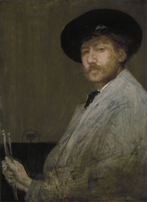 'Arrangement in Gray: Portrait of the Painter' (self portrait, circa 1872), Detroit Institute of Arts. Image courtesy of Wikimedia Commons.