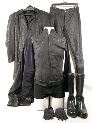 Albert Wesker's (Shawn Roberts) hero costume from Resident Evil 4, estimate $8,000-$10,000. Image courtesy Premiere Props.