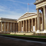 About 5 million visitors tour the British Museum every year. Image courtesy of Wikimedia commons.