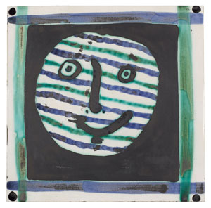 Pablo Picasso (Spanish, 1881-1973), Masque. Image courtesy of Bonhams.