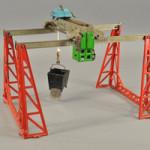 1930s Kenton Morgan cast-iron toy crane, top Internet lot sold through LiveAuctioneers.com, $21,690. Image courtesy LiveAuctioneers.com and Bertoia Auctions.