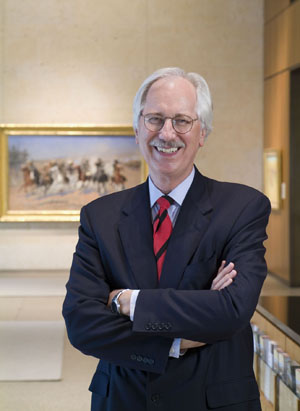 Dr. Ron Tyler, Director of the Amon Carter Museum of American Art. Photo courtesy of the Amon Carter Museum of American Art.