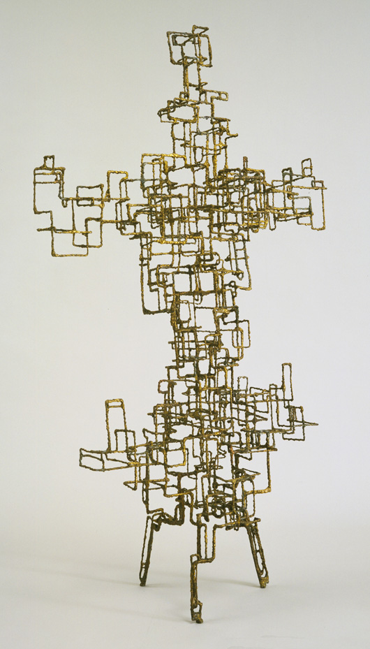 Ibram Lassaw (American, born Egypt. 1913-2003) Kwannon. 1952 Welded bronze, 6' 1/2