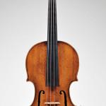 Circa-1753 Italian violin, Lorenzo & Tommaso Carcassi, Florence, estimate $65,000-$80,000. Image courtesy Skinner Inc.