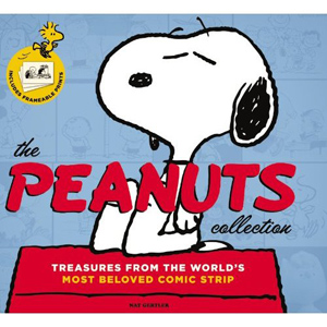 The Peanuts Collection: Treasures from the World's Most Beloved Comic Strip, by Nat Gertier, is available to pre-order through amazon.com. Image courtesy amazon.com.