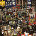 A scene from the floor of the 2007 New York ComicCon. Photo copyright Jeffrey O. Gustafson 2007, licensed under GNU Free Documentation License, Creative Commons Attribution-Share Alike 3.0 Unported License