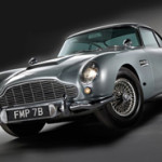 Aston Martin driven by Sean Connery in the role of James Bond in the film Goldfinger, sold for $4.1 million in RM Auctions' Oct. 27 sale in London. Image courtesy of LiveAuctioneers.com Archive and RM Auctions.