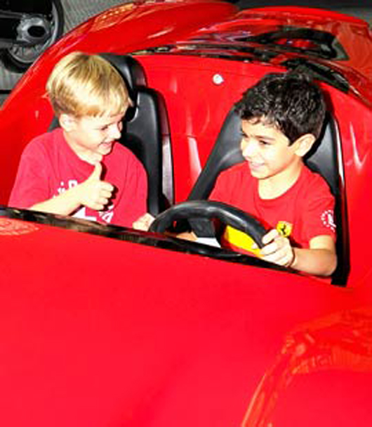 The carousel, located in the heart of Ferrari World Abu Dhabi, will appeal to guests of all ages, offering them the chance to experience the park at a more relaxed pace than some of the more high-octane rides. Image courtesy of Ferrari World Abu Dhabi.