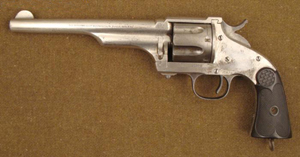 1873 model Winchester revolver, estimate $5,500-$7,000, to be auctioned on Friday, Nov. 5, 2010. Universal Live photo.