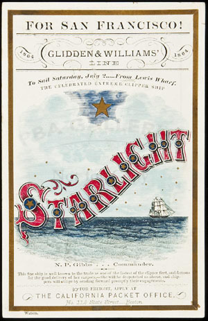 , Clipper ships cards, gold rush relics rally at PBA auction