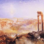 Turner's masterpiece 'Modern Rome – Campo Vaccino' measures 35 1/2 inches by 48 inches. Image courtesy of Wikimedia Commons.