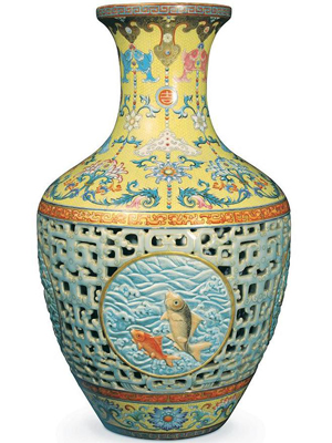 Pot o' gold: Family's old vase fetches $83 million in UK auction