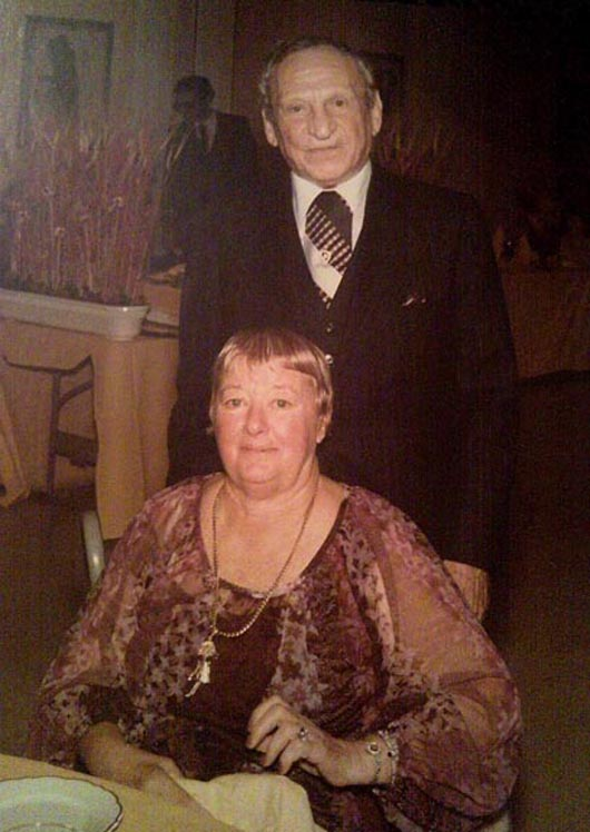 The late George and Hilda Fried of New York City. Image provided by Jeffrey S. Evans & Associates.