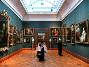 Inside the National Portrait Gallery, London. Oct. 24, 2008 photo taken by Herry Lawford. Licensed under the Creative Commons Attribution 2.0 Generic license.
