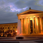 The Philadelphia Museum of Art, shown in this photo shot at night, is one of the city's most-visited attractions. Photo by Nfutvol, taken April 30, 2010. Licensed under the Creative Commons Attribution-Share Alike 3.0 Unported license.