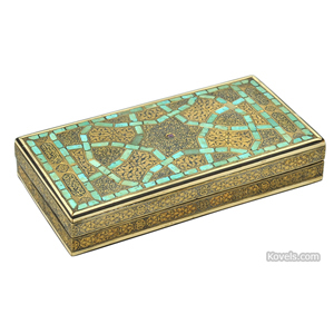 Persian box. Image courtesy of Sotheby's London.