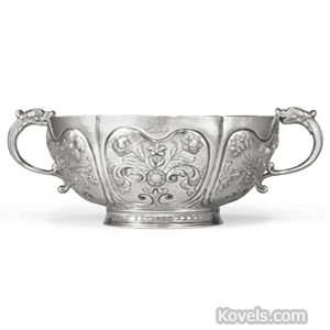 American silver bowl. Image courtesy of Sotheby's New York.