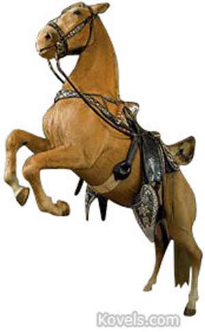 Roy Rogers' Trigger. Image courtesy of Christie's Images LTD 2010.