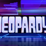 Screenshot of Jeopardy! logo, which is the copyrighted property of Sony Pictures Television. Fair use of image directly pertaining to an article about the TV show Jeopardy!
