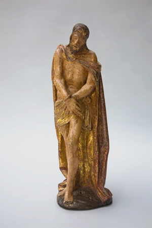 This important polychrome wood sculpture entitled Ecce Homo, attributed to the Greek-born Spanish artist El Greco (1541-1614) will be on the stand of Spanish dealer Deborah Elvira at the European Fine Art Fair (TEFAF) in Maastricht from 18 to 27 March. Image courtesy of Deborah Elvira.
