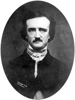 Edgar Allan Poe in an 1848 daguerreotype. Image courtesy of Wikimedia Commons.