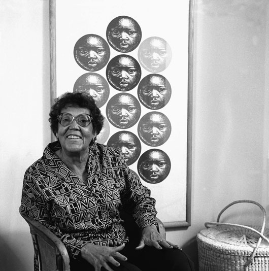 Elizabeth Catlett heads a show of black artists at the Bronx Museum. Image courtesy of Wikimedia Commons.