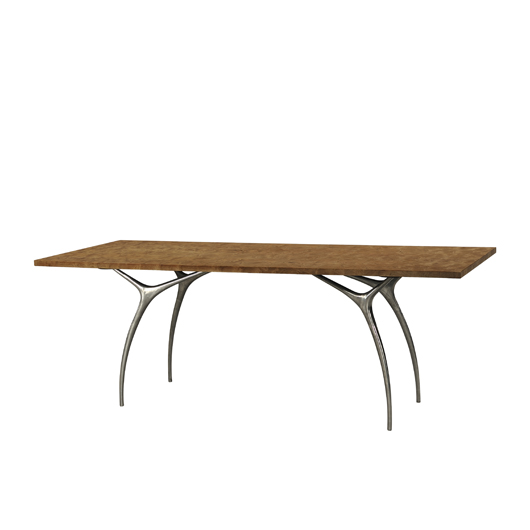 The Flying Buttress Table, Designed By The Keno Bros. Image Courtesy Of  Theodore Alexander