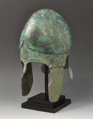 Bronze infantry helmet. Estimate $23,000. Image courtesy of TimeLine Auctions.