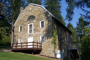 The Appalachian Trail Museum is in Pine Grove Furnace State Park in Pennsylvania. Image by Robert T. Kinsey courtesy of Millpictures.com.
