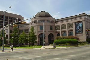 The Bob Bullock Texas State History Museum in Austin, Texas.