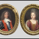 Pair French School (17th-18th century) portraits, unsigned, part of the Duke and Duchess of Windsor Sale, Sotheby's 1997. Image courtesy of William Jenack Estate Appraisers and Auctioneers.